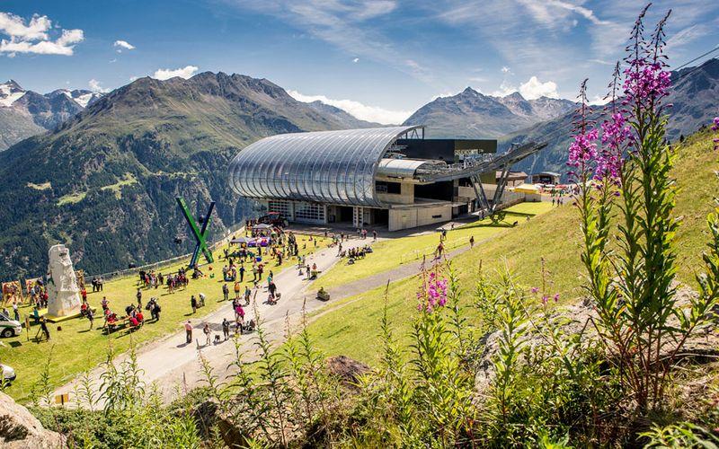 Bergbahnen Sölden Sommer