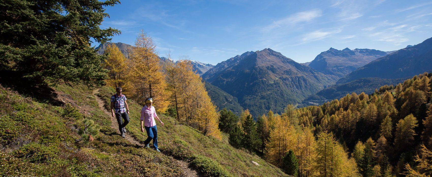 Wandern in den Ötztaler Alpen