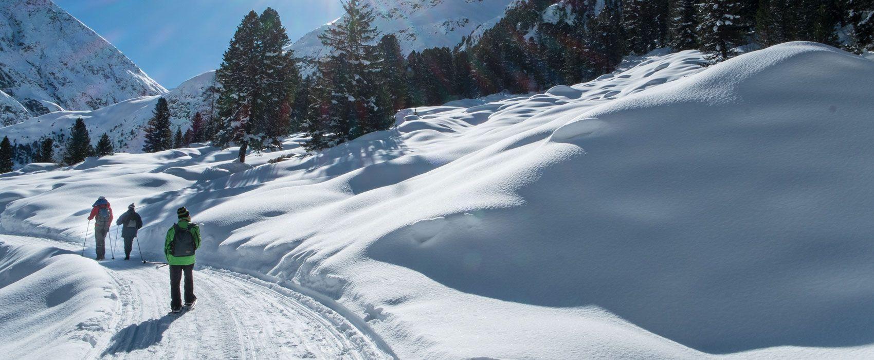 Winterwanderung im Ötztal